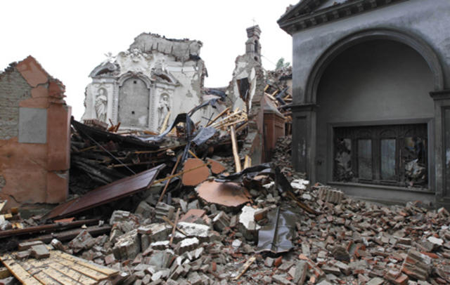 Northern Italy Rattled by Earthquake