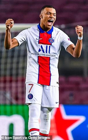 3. Kylian Mbappé, Paris Saint-Germain
