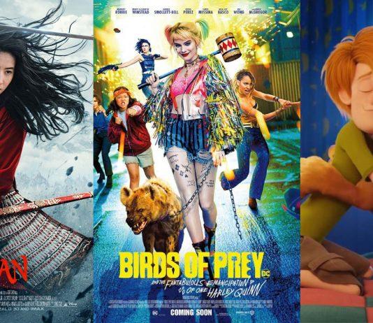 upcoming movies 2020