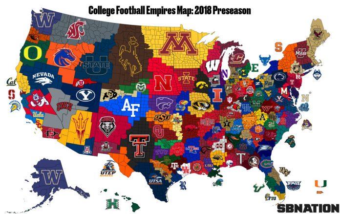 NCAA Football Teams