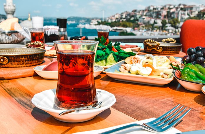 Turkey- and-Drink Combination