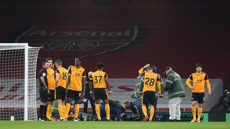 Arsenal coach Arteta backs the idea of concussion subs
