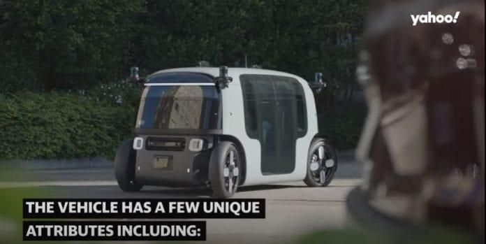 Amazon start-up Zoox unveils autonomous electric vehicle