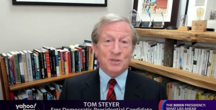 Billionaire Tom Steyer weighs in on the Biden tax plan and what it means for businesses