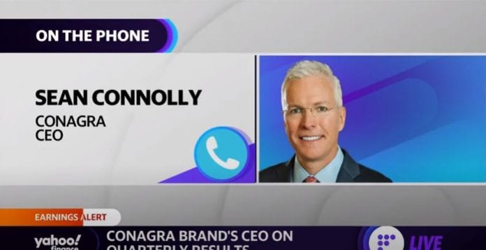 Conagra Brands CEO on earnings and food trends: There will be continued elevated eating at home