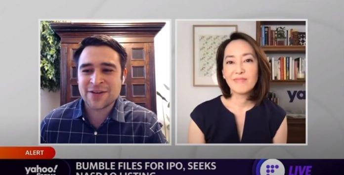 Datine App Bumble files for IPO, seeks Nasdaq listing