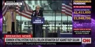 Dominion sues Rudy Giuliani for $1.3 billion over false election claims