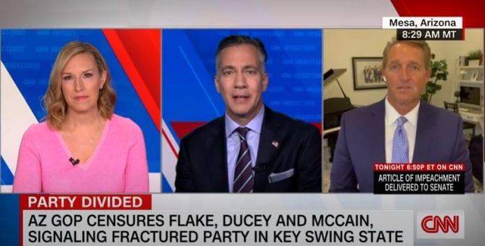 Ex-GOP senator: No future for Republicans with Trumpism