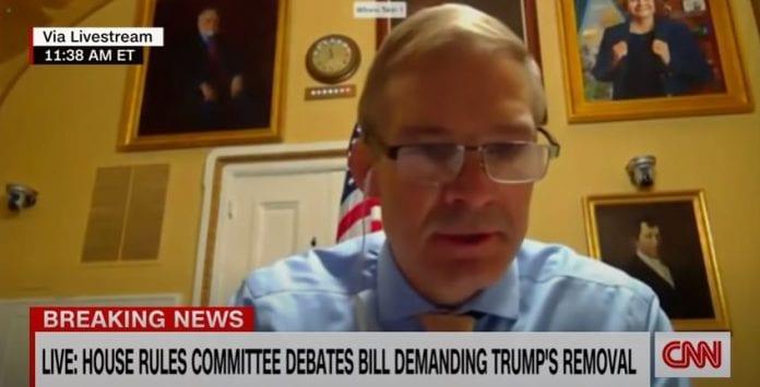 Lawmaker confronts Jim Jordan for not saying election was fair
