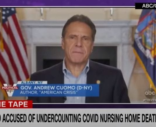 NY Gov. Cuomo accused of undercounting Covid-19 nursing home deaths