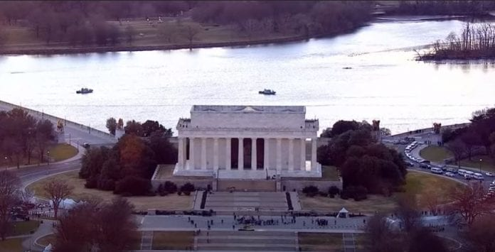 President-elect Biden inaugural committee hosts coronavirus memorials at the Lincoln Memorial