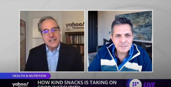 KIND Snacks Founder on the company's commitments to support racial equality and food insecurity
