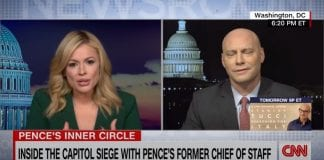 Mike Pence's former chief of staff speaks with CNN