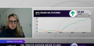 Oil prices hover near 13-month highs amid Texas power outages