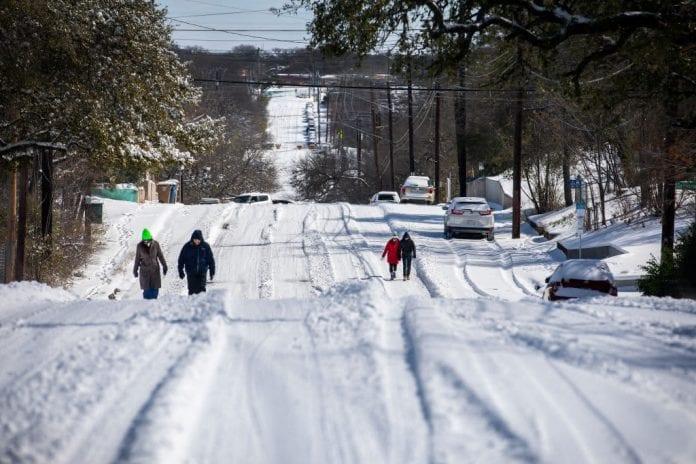 tim boyd on texas snowstorm