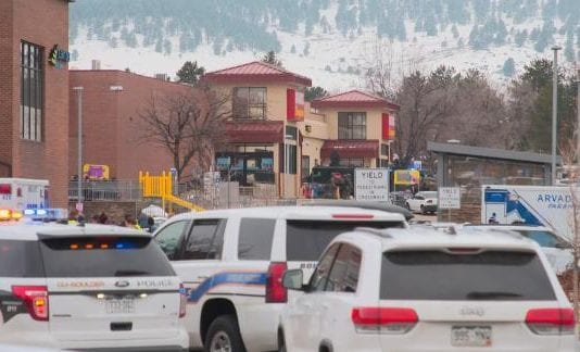 10 dead in taking pictures at a supermarket in Colorado -- under a week following the spa killings in Atlanta