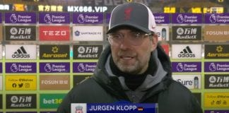 """""""Three dirty points, I'm completely fine with that!"""" 😅  Jurgen Klopp speaks after win over Wolves"""
