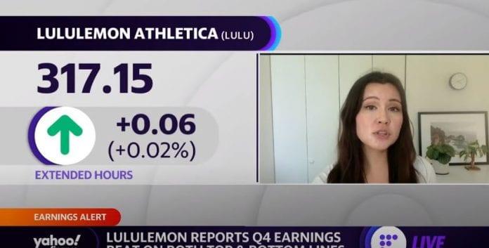 Lululemon posts adjusted EPS, net revenue beat