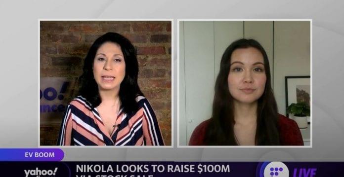 Nikola looks to raise $100 million via stock sale