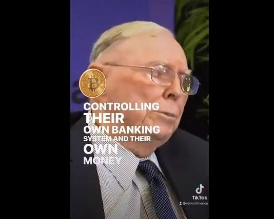 Charlie Munger on bitcoin: 'I never buy any bitcoin and recommend people follow my practice'