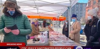 Fully vaccinated people can go without masks outdoors: CDC