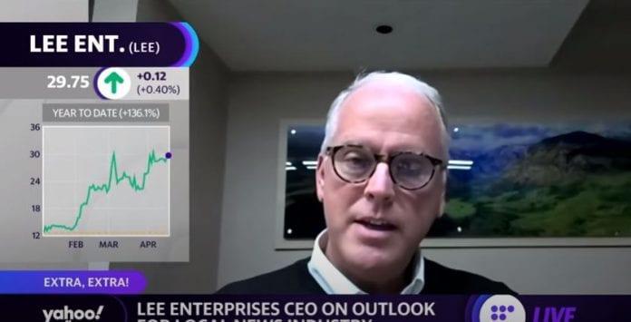 Lee Enterprises CEO discusses purchasing Warren Buffett's newspaper business for $140 million