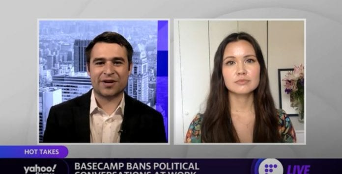 Should companies ban political conversations? Basecamp is the latest to bar talks about politics