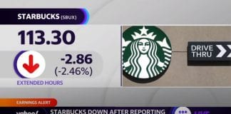 Starbucks earnings: Shares down after reporting Q2 mixed results
