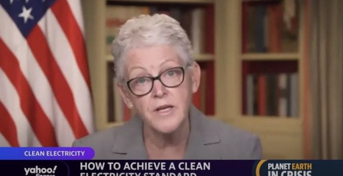 White House National Climate Advisor on Biden's goals to cut U.S. emissions