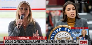 Deleted 2019 video shows Greene yelling into Ocasio-Cortez's office