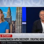 Discovery and AT&T CEOs discuss media deal