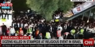 Dozens killed in crush at a mass religious event in Israel