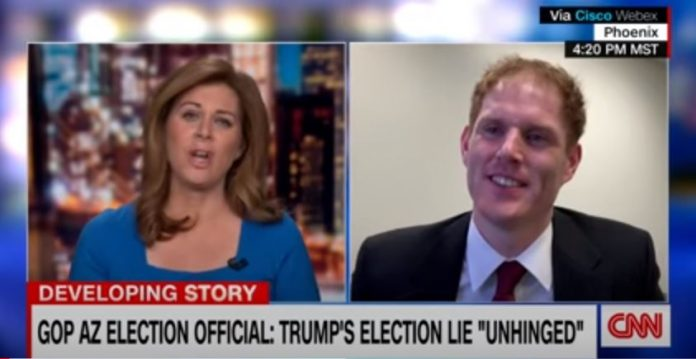 'Exasperated': GOP Arizona election official reacts to Trump's election lie