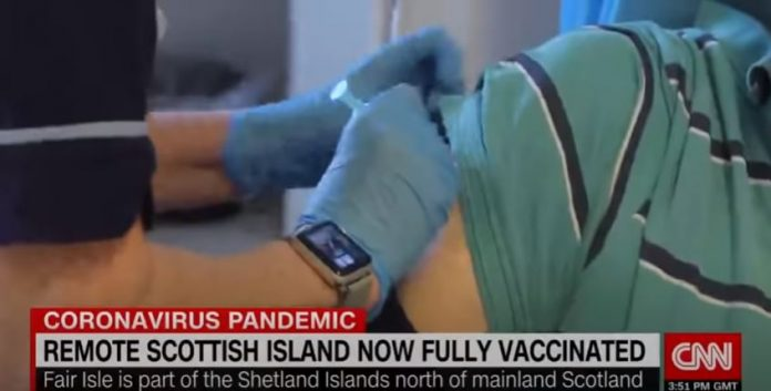 How the UK is vaccinated one of its most remote islands