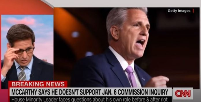 Kevin McCarthy says he opposes January 6 commission