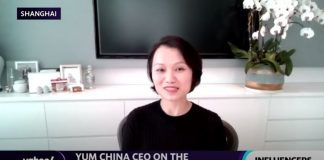 Rise of online ordering 'will continue' after COVID-19: Yum China CEO
