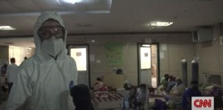 See inside hospital in India ravaged by Covid-19
