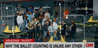 See what CNN reporter spotted at bizarre election 'audit'