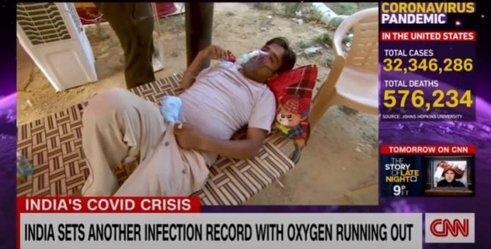 This city in India is gasping for oxygen amid Covid-19 surge