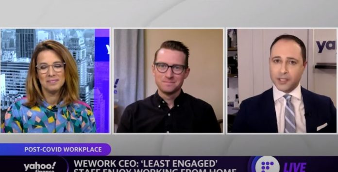 WeWork CEO faces criticism for workers comment that 'least engaged' workers enjoy working from home