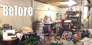 Declutter Your Basement