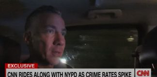 CNN reporter rides along with NYPD amid spike in crime rate