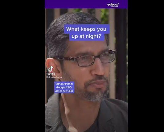 Google CEO Sundar Pichai on what keeps him up at night