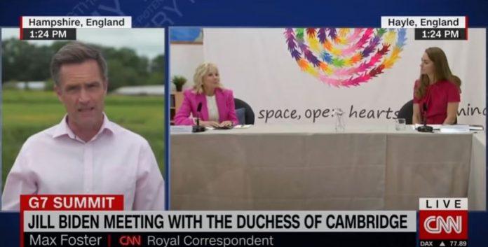 Jill Biden and the Duchess of Cambridge tout early education