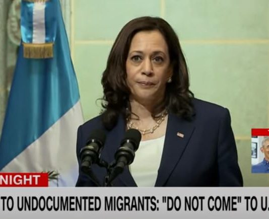 Ocasio-Cortez calls out Kamala Harris after speech on immigration