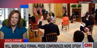 Psaki: I can't let briefing room become a forum for propaganda