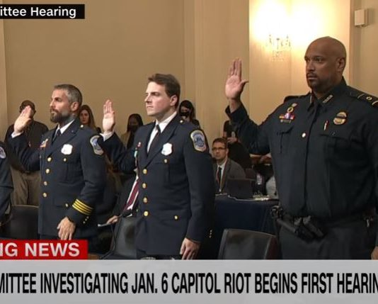 Capitol Police officer shares emotional testimony