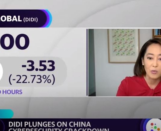Didi stock plunges after China removes app from stores amid cybersecurity crackdown