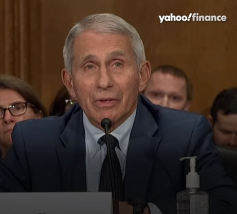 Dr. Fauci and Senaor Rand Paul (R-KY) in heated argument at Senate hearing