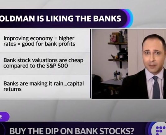 Is now the time to buy bank stocks on the dip?